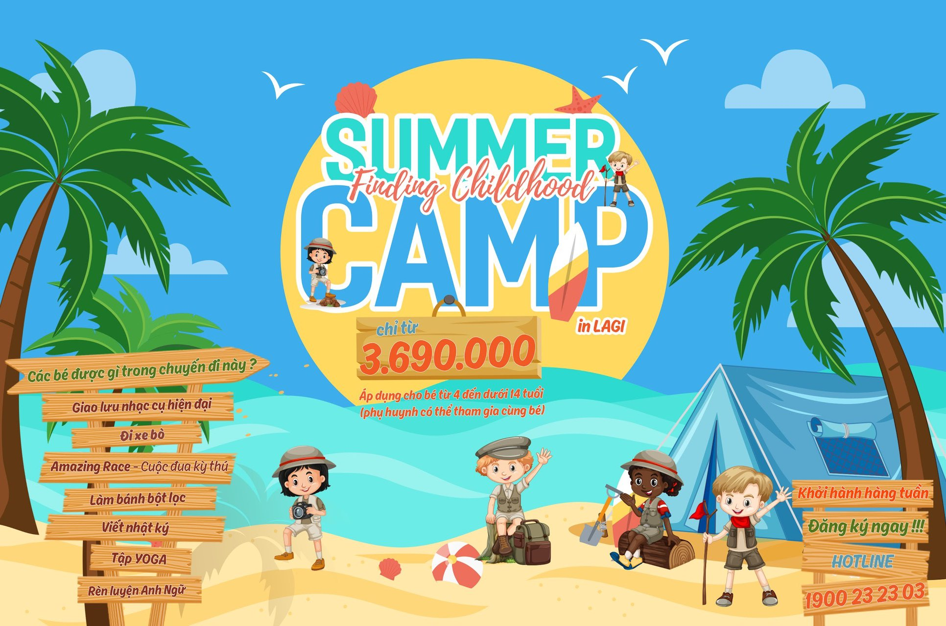 FINDING CHILDHOOD SUMMER CAMP 2020 - LAGI FARMSTAY 2020